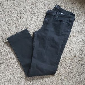 LUCKY BLACK SWEET STRAIGHT JEANS SZ 14/32 R